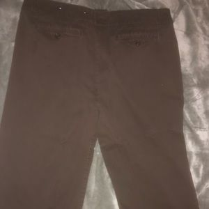 Pants - Brown shorts/capris